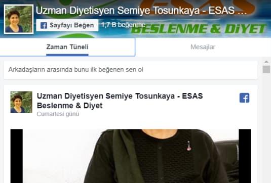 Semiye Tosunkaya Facebook
