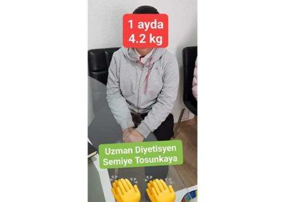 1 Ayda 4 Kg